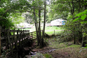 Camping and glamping in the Wye Valley at hidden Valley Yurts