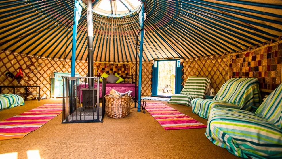 Yurt interior 3